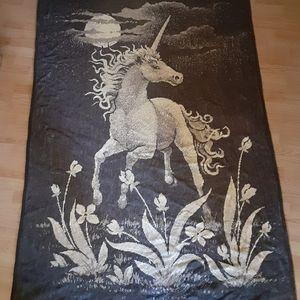 Other - Fantasy Unicorn Under Full Moon Oversized Blanket/